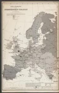 Machtverhältnisse der Europ. Staaten