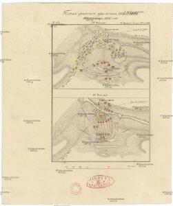Plan sraženija pri Bojlešti 14go sentjabra 1828go goda