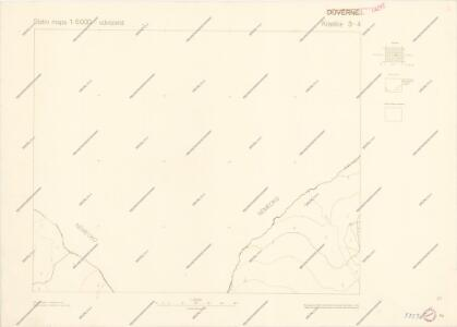 Státní mapa 1:5000 odvozená