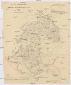 Karta Černogorii