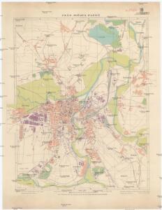 Plán města Plzně