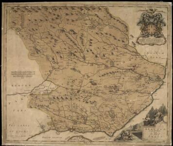 Angusia Provincia Scotiae sive The Shire of Angus. Shire of Angus.