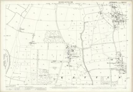 Nottinghamshire XVI.9 (includes: Fenton; Kettlethorpe; Newton On Trent) - 25 Inch Map