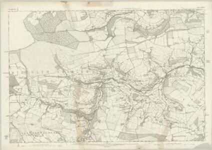 Denbighshire XXXIX - OS Six-Inch Map