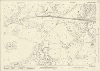 Berkshire XXXIX.13 (includes: Binfield; Easthampstead; Warfield; Winkfield) - 25 Inch Map