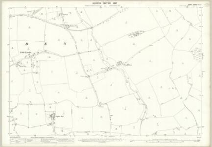 Essex (1st Ed/Rev 1862-96) XIII.11 (includes: Berden; Manuden) - 25 Inch Map