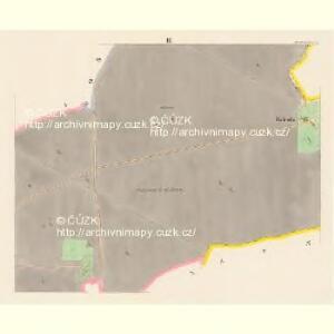 Rentsch (Rzencze) - c6688-1-003 - Kaiserpflichtexemplar der Landkarten des stabilen Katasters