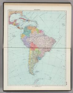 221-222.  South America, Political.  The World Atlas.