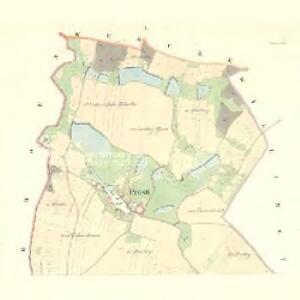 Prosti - m2429-1-001 - Kaiserpflichtexemplar der Landkarten des stabilen Katasters