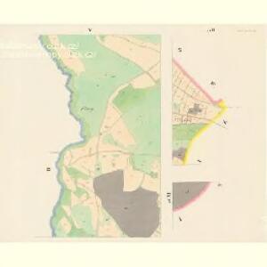 Gross Czekau - c0785-1-004 - Kaiserpflichtexemplar der Landkarten des stabilen Katasters