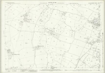 Gloucestershire LXXII.2 (includes: Bristol; Stoke Gifford; Winterbourne) - 25 Inch Map