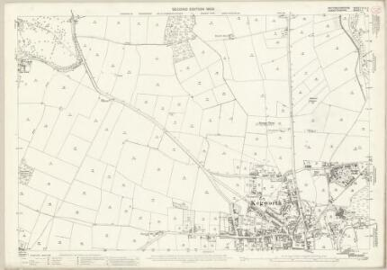 Nottinghamshire XLIX.2 (includes: Kegworth; Kingston On Soar; Lockington Hemington; Ratcliffe On Soar) - 25 Inch Map