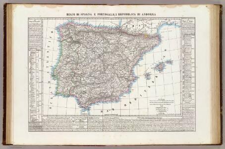 Regni di Spagna e Portogallo, e Repubblica di Andorra.