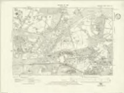 Berkshire XXXIX.SE - OS Six-Inch Map