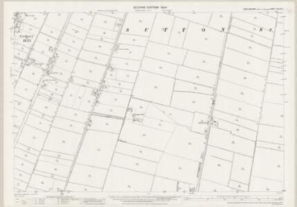 Lincolnshire CXLIX.14 (includes: Gedney Hill; Sutton St Edmund) - 25 Inch Map