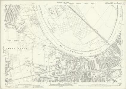 Surrey II.13 (includes: Barnes; Chiswick St Nicholas; Mortlake) - 25 Inch Map