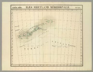 Iles Shetland Meridionale. Amer. Merid. no. 43.