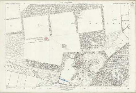Suffolk XII.3 (includes: Brandon; Wangford) - 25 Inch Map
