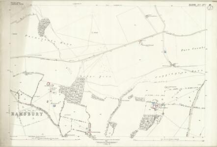 Wiltshire XXIV.6 (includes: Baydon; Lambourn) - 25 Inch Map