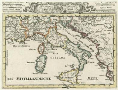 Compendiosa Italiae Repraesentatio =
