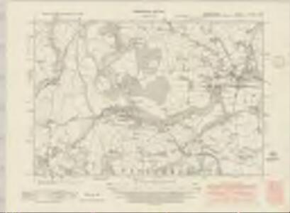Cardiganshire XXXVIII.SW - OS Six-Inch Map