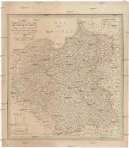 Charte von dem Königreiche Polen, den königl. preussischen Provinzen Ost und West- Preussen und Posen nebst dem Gebiete der freien Stadt Krakau