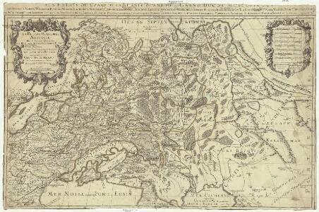 La Russie Blanche ou Moscovie, divisée suivant l'estendue, des royaumes, duchés, principautés, provinces, et peuples, qui sont presentement soubs la domination du czar de la Russie, cogneu soubs le nom de Grand duc de Moscovie