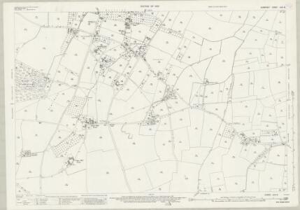 Somerset LXIII.8 (includes: Barton St David; Butleigh; Kingweston) - 25 Inch Map