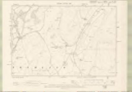 Peebles-shire Sheet XI.NE - OS 6 Inch map