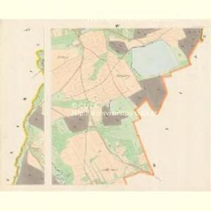 Subschitz - c9296-1-004 - Kaiserpflichtexemplar der Landkarten des stabilen Katasters