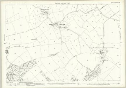 Essex (1st Ed/Rev 1862-96) XXIII.9 (includes: Elsenham; Stanstead Mountfitchet) - 25 Inch Map