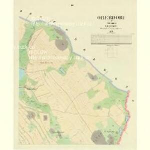 Oberdorf - c2172-1-003 - Kaiserpflichtexemplar der Landkarten des stabilen Katasters