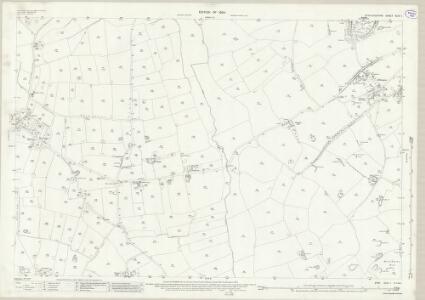 Staffordshire XLIV.1 (includes: Bradley; Haughton) - 25 Inch Map
