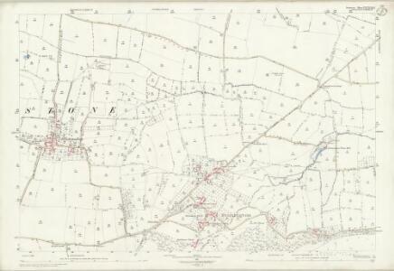 Somerset LXXXVIII.7 (includes: Dinnington; Hinton St George; Kingstone; Seavington St Mary) - 25 Inch Map