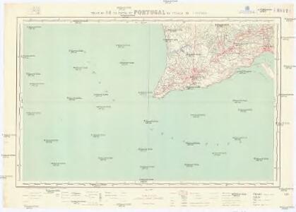 Carta de Portugal na escala de 1:100.000