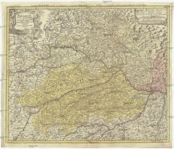 Bavariae pars inferior tam in sua regimina generalia quam in eorundem praefecivras particvlares accurate divisa