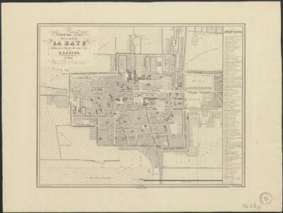 Nouveau plan de la ville de La Haye contenant tous les changemens faits jusqu'a ce jour