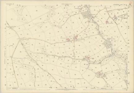 Devon XXXI.13 (includes: Ashreigney; Burrington) - 25 Inch Map