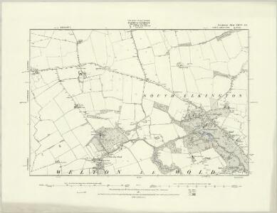 Lincolnshire XLI.NE - OS Six-Inch Map