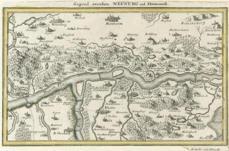 Gegend zwischen Neuburg und Donauwerth.