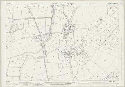 Somerset LXXII.12 (includes: Drayton; Huish Episcopi; Muchelney) - 25 Inch Map