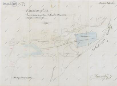 Plán znovunapuštění rybníka Hadrovce u obce Újezd
