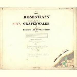 Rosenhain - c6598-1-002 - Kaiserpflichtexemplar der Landkarten des stabilen Katasters