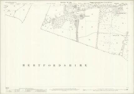 Middlesex VI.4 (includes: Barnet Vale; East Barnet; Enfield St Andrew; Monken Hadley) - 25 Inch Map