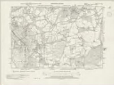 Surrey XLV.SW - OS Six-Inch Map