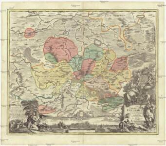 Nova teritorii Erfordien in suas praefecturas