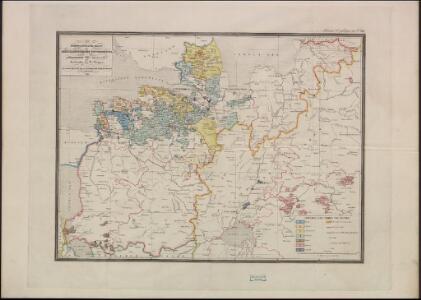 Ethnographische Karte des St. Petersburgischen Gouvernements