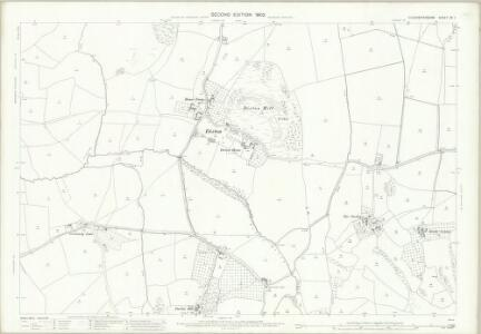 Gloucestershire XX.1 (includes: Alderton; Gotherington; Oxenton; Prescott) - 25 Inch Map