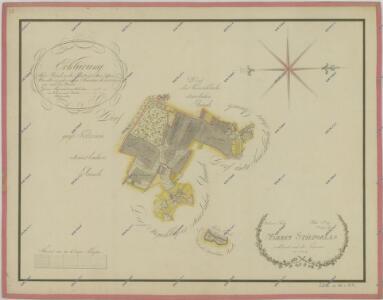 Mapa pozemků dvora Štipoklasy 1