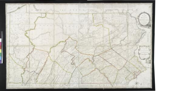 A map of the state of Pennsylvania / by Reading Howell.